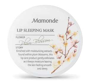 floral overnight sleeping mask