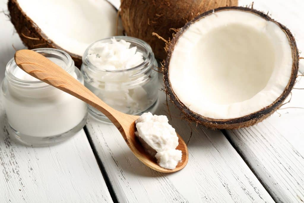 coconut butter and oil