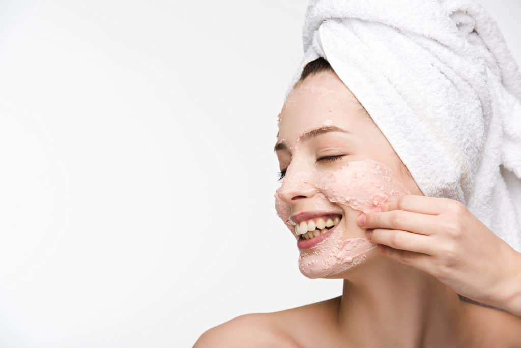 enzyme peels exfoliating your skin making it brighter and lighter