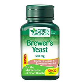 brewer's yeast nutrition for healthy skin and hair
