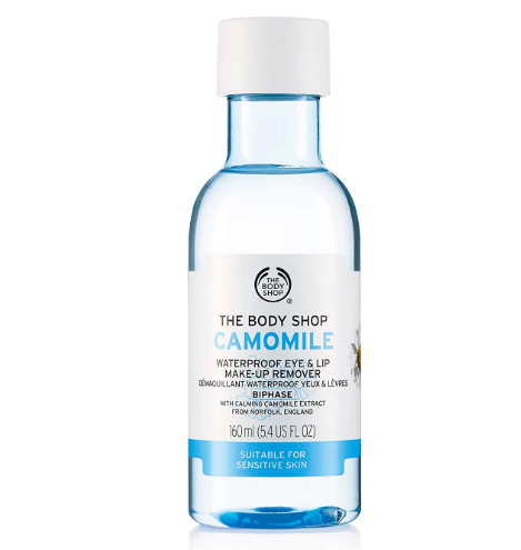 camomile makeup remover
