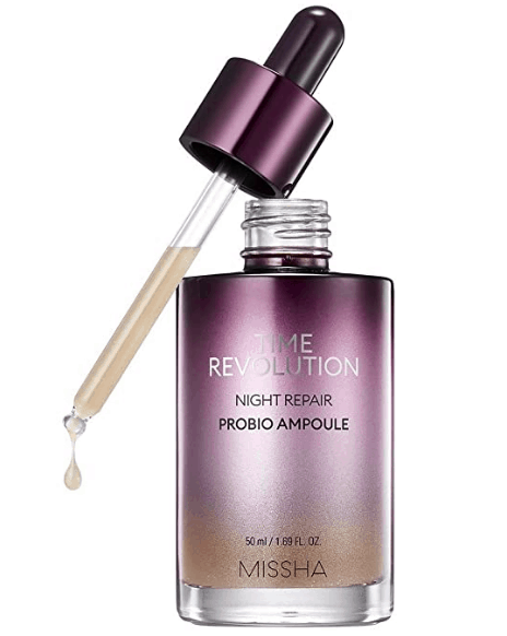 hydrating and moisturizing korean ampoule with fermented ingredients