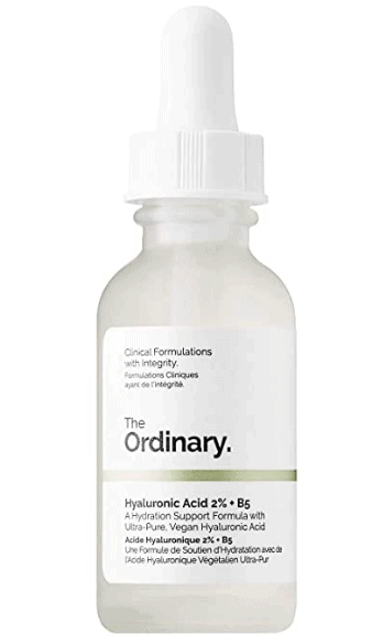 Hyaluronic acid with vitamin B5 humectant