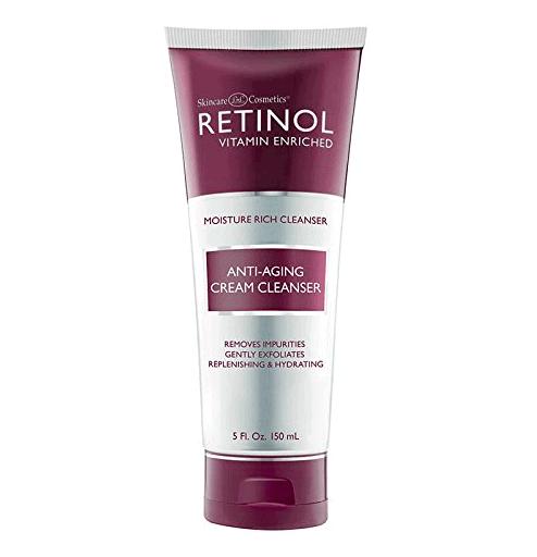 retinol face wash